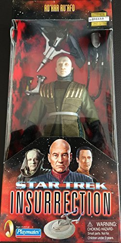 Star Trek: Insurrection! Ad'Har Ru'Afo Poseable 9 Action Figure with Cloth In S'Ona Command Uniform by Star ()