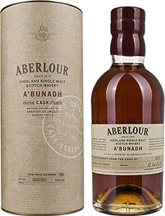 Aberlour A'Bunadh Highland Single Malt Scotch Whisky (1 x 0.7 l)