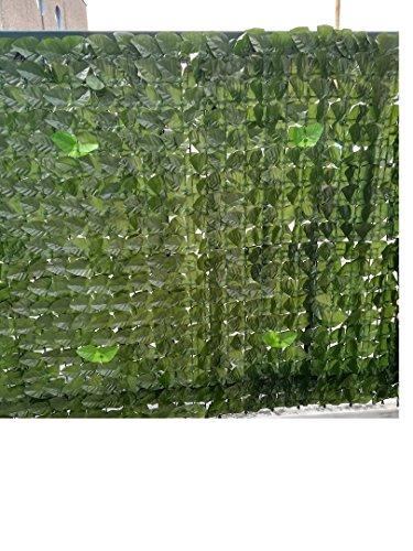 Siepe Artificiale New - Rotolo 01x03 mt (3mq) - per Balcone - Recinzione - Ringhiera - Giardino