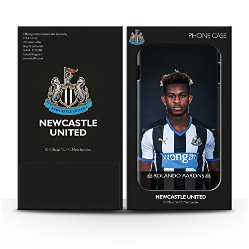 Offiziell Newcastle United FC Hülle / Glanz Snap-On Case für Apple iPhone 7 / Elliot Muster / NUFC Fussballspieler 15/16 Kollektion Aarons