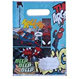 Spider Man cumpleaños bolsas de fiesta nuevo 6121824