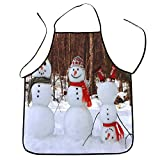 KaloryWee Winter Sale 2018 Christmas Decoration Waterproof Apron Christmas Dinner Party Apron