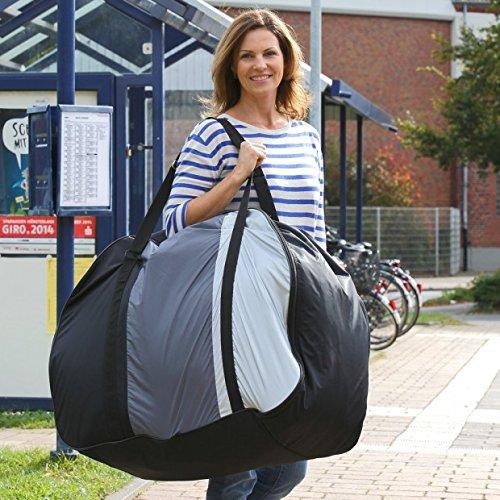 aktivelo Fahrrad Transporttasche inkl. Tragegurt, Aufbewahrungstasche für Falträder bis 20 Zoll, Schutzhülle mit Polsterung zum Schutz vor Beschädigung, ideal für Pendler und Urlauber, Outdoor