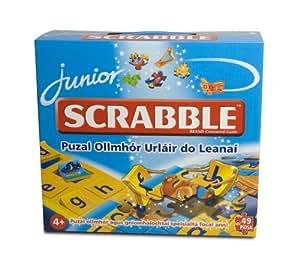 Tinderbox Games Scrabble Junior Giant Puzzle Irish Language Version