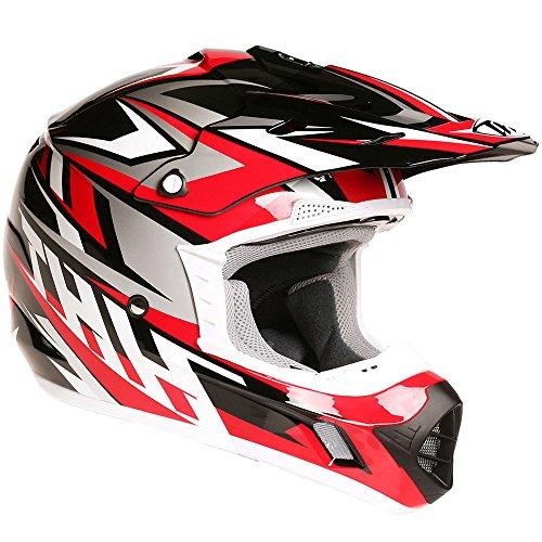 Thh tx12# 20adulto Off Road Motocross MX Enduro casco–Strike II