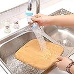 NK-STORE's 1 Pc Adjustable Splash Sprinkler Head Nozzle Bathroom Tap Water Saving Device Faucet Regulator