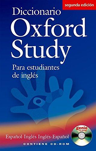 Diccionario Oxford Study para estudiantes de inglés: español-inglés/inglés-español - 9780194316927