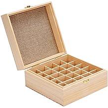Gbtree 25-bottles olio essenziale valigetta scatola contiene 255,10,15ml e 10ml roller bottiglie olio casi per oli