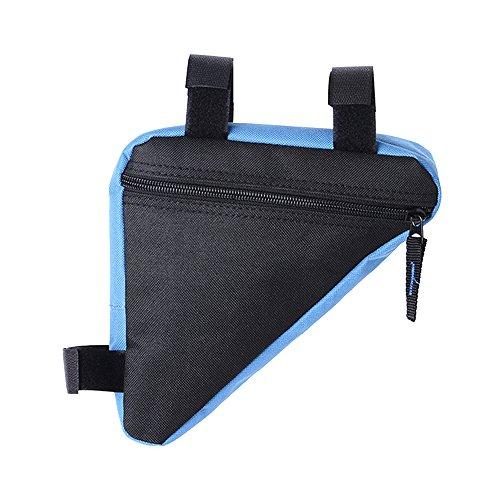 Eizur Borsa Bicicletta Front Triangle Bag Triangolo Tasche Telaio Anteriore Testa Bicicletta Sacchetto della Bici Tubo sacchetto Portante triangolare sacchetto Bike Pannier Sgancio rapido - Blu