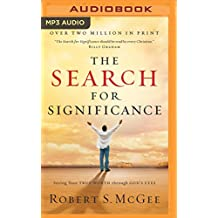 SEARCH FOR SIGNIFICANCE      M