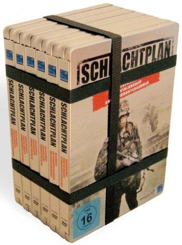 Schlachtplan - Die Taktiken des Krieges: Vol. 1-6 (Iron Edition) (6 DVDs)