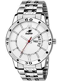 Espoir Analog White Dial Men's Watch - WDD0507