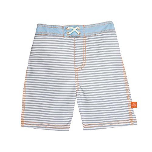 Lässig 1431009211 Baby Board Shorts Badehose, Small Stripes, 12 Monate, mehrfarbig