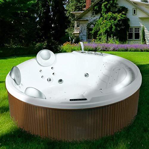 Minipiscina vasca idromassaggio spa wellness da esterno 200x200 cm