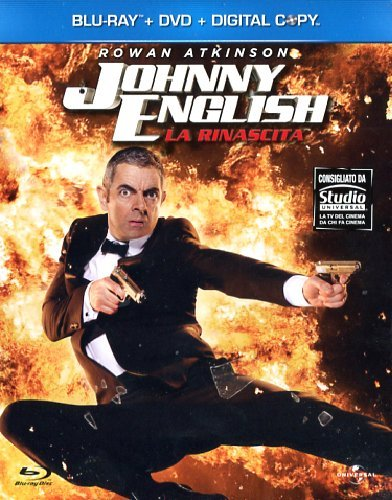Johnny English - La rinascita [Blu-ray + DVD+ Digital Copy] [IT Import mit deutscher Sprache] [IT Import]