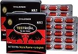 B.P.V - Bestseller Testridal 30 Kapseln = 16g - Potenzmittel - Testo Booster - Hochdosiertes Kombi-Produkt perfekt geeignet f