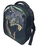 3D Dinosaurier-Kind-Rucksack, Kühle Tierschultasche mit Hoher Kapazität, Stilvolle Jungen-Schulter-Beutel, Schultaschen-Handtasche, Mittagessenbeutel, Picknickbeutel.