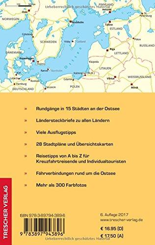 Reiseführer Ostseestädte: Kreuzfahrten zwischen Kiel, St. Petersburg, Stockholm und Oslo (Trescher-Reihe Reisen): Alle Infos bei Amazon