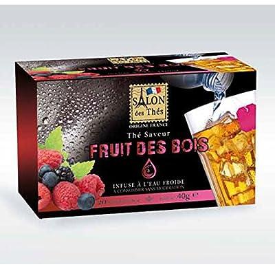 Le Salon Des Thés - Infusion Fruits Des Bois - Lot De 2 X 20 Sachets De 2G