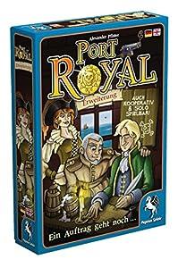Pegasus Spiele 18141G Puerto Royal sólo uno más Contrato expansión Juego de Cartas