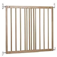 BabyDan Multidan Extending Wooden Safety Gate Beech, 60.5-102cm