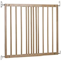 BabyDan Multidan Extending Wooden Safety Gate Beech, 60.5-102cm
