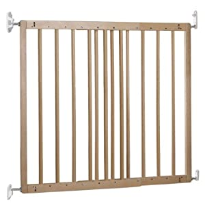 BabyDan Multidan Extending Wooden Safety Gate Beech, 60.5-102cm Safetots Fittings kit allows the stair gate to be screwed into a structurally sound surface Fitting kits are sold in their entirety Compatible with the Safetots Extending Metal Gate White 3