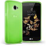 TBOC® Grün Gel TPU Hülle für LG K5 (X220) Ultradünn Flexibel Silikonhülle