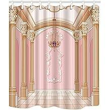 Nicht aussteigen Benfa Dicker Duschvorhang 3D-Digitaldruck Wasserdicht und Mehltau Polyestergewebe Badezimmer Gardinen mit Metallhaken . Gr/ö/ße: 120 * 180 cm W*H