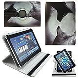 Wolf Vollmond Tablet Tasche Schutz Etui Hülle für 10 Zoll Jay-Tech / CANOX Tablet PC 101