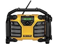 DeWALT DCR016 Portable Analog Black,Yellow - radios (Portable, Analog, AM, FM, LCD, Lithium-Ion (Li-Ion), 10.8, 14.4, 18)
