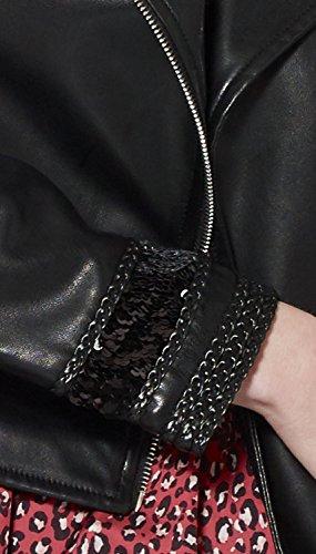 LMV La Mode est à Vous - Veste MECANIC- Femme Noir