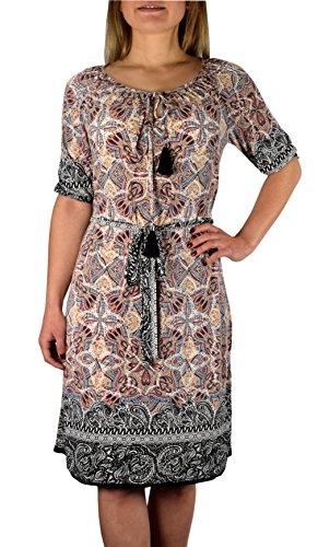 Peach Couture -  Vestito  - linea ad a - Donna Beige