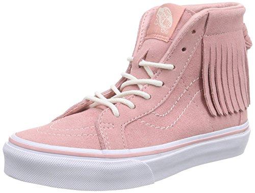 Vans SK8-Hi Moc Sneakers Alte, Unisex - Bambini, Rosa (Blossom), 35