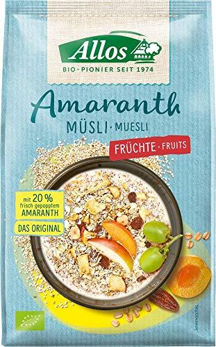 Allos Bio Amaranth Früchte Müsli (6 x 375 gr)
