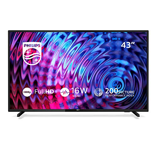 Philips 43PFS5503/12 Fernseher 108 cm (43 Zoll) LED TV (Full HD, HDMI, USB, Triple Tuner) Philips Digital-tv-tuner
