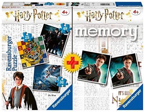 Ravensburger - Multipack memory + 3 puzzle Harry Potter