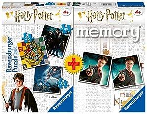 Ravensburger - Multipack memory + 3 puzzle Harry Potter (05054)