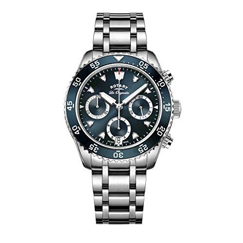 Rotary Herren - Armbanduhr Legacy Ocean Chronograph Quarz GB90170/05