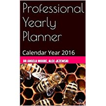 Professional Yearly Planner: Calendar Year 2016 (Office Planner)