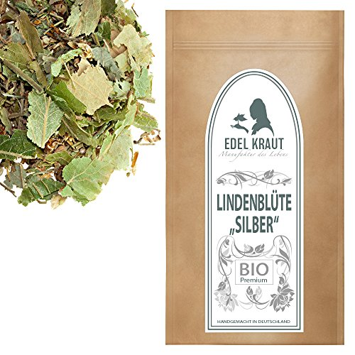 EDEL KRAUT | BIO LINDENBLÜTEN SILBER geschnitten - Premium Lindenblüten-Tee 100g