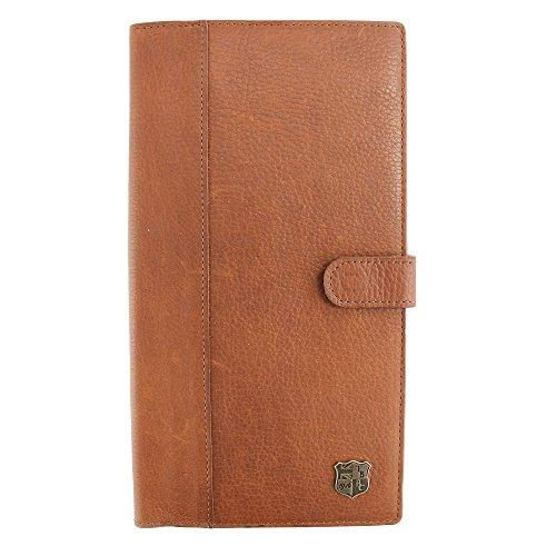 WHITEFORD 100% geölt echtes Leder Reisen Dokument Halter für Passport Gr. onesize, hautfarben (Echt-passport-halter Leder)