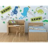 Dino in the Dark Wall Stickers Décor Decal Art