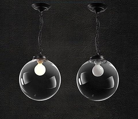 GBT ronds en verre lampe Creative Salon Restaurant Lustre? Lampes LED, lumière chaude, éclairage Blanc, lustres, Lampes de lumières d'intérieur, extérieur, Lampes de mur?