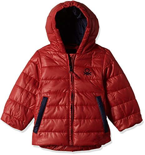 United Colors of Benetton Baby Boys' Jacket (16A2GK3538D0G2810Y_Maroon)
