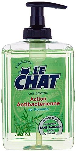 le-chat-gel-lavant-action-antibacterienne-flacon-300-ml-lot-de-2
