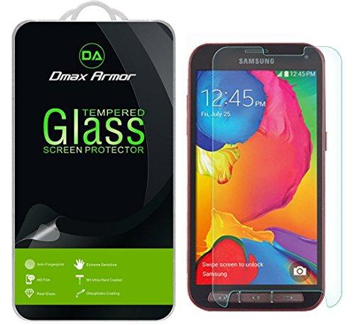 [3-Pack] DMAX Armor für Samsung Galaxy S5Sport Displayschutzfolie, [gehärtetem Glas] 0,3mm Härtegrad 9H, Kratzfest, Keine Fingerabdrücke, blasenfrei, ultraklar (Sport-ersatz-glas Galaxy S5)