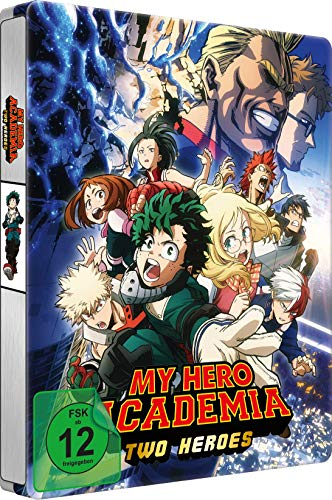 My Hero Academia: Two Heroes - Steelbook - [Blu-ray]