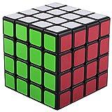 XelparucTS Speed Rubik Cube de Rugby avec Base Noire 6 Couleurs Puzzles éducatifs spéciaux Jouets Teaser Coffret Cadeau 4 x 4 sans Autocollant Développe logique cérébrale