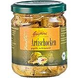 Gustoni Artischockenherzen in Kräuteröl (190 g) - Bio
